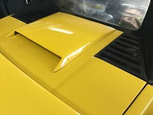 Pontiac Fiero 1984 To 1988 Fiberglass Bolt On Hood Scoop Made In The Usa