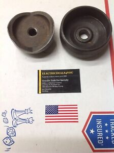 Pre owned Greenlee 3 Conduit Knockout Punch die Set 5004180 5004183 7196