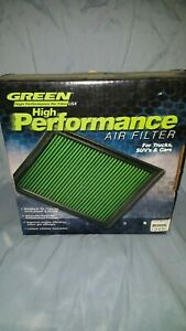 Green High Performance Air Filter 2404 Fits Ford Mustang