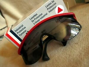 New Lot 6 6 Uvex S1179c Astrospec 3000 Safety Glasses With Gray Anti fog Lens