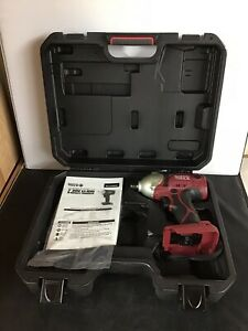 Matco Tools Mcl2038iw 3 20v Li On 8 Impact Wrench