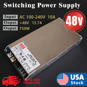 Mean Well New Rsp 750 48 750w 48v S o Switching Power Supply