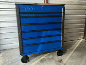 Matco Jamestown Service Cart Jsc480 Dbb Stainless Top Blue Jsc480 Tool Box Mint