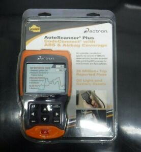 Actron Autoscanner Plus Codeconnect With Abs Airbag Cp9680