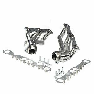 Stainless Steel Truck Headers For 88 97 Chevy Gmc 5 0l 5 7l 305 350 V8