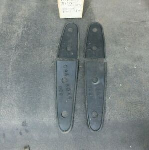 1935 1936 1937 1938 39 Packard Nos Trunk Hinge Mp 838 Pads Rubber Metro Br