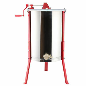 4 frame Large Stainless Steel Honey Extractor Ss Beekeeping Equipment