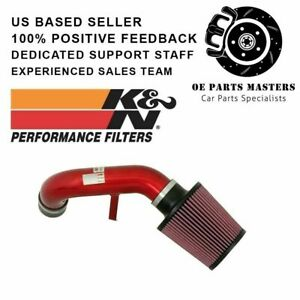 K n For 2002 Acura Rsx Red Typhoon Short Ram Intake 69 0015tr