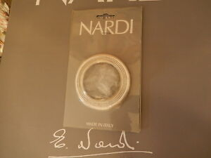 Nardi Personal Trim Ring Polished Aluminum For Horn Button New Retail 61 83