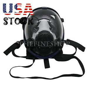 7pcs set Full Face Gas Mask Respirator For Paint Spray Weld Manufacture Us Ship