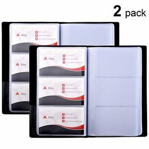Maxgear Business Card Book Holder Journal Office Business Card Organizer