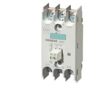 Siemens 3rf22553ac45 Solid State Relay 45mm 3 Phase 3 Phase Controlled