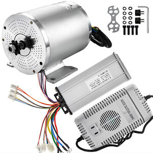 48v Brushless Motor Speed Controller Charger 1800w Permanent Motorcycle Bracket