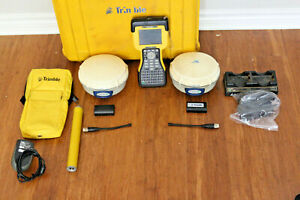 Trimble Dual R6 Gps Gnss Base Rover Rtk Receiver Kit System Tsc2 Access