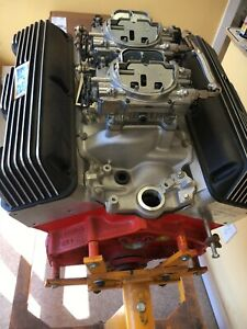 Chevy Engine 409 425 Hp Impala Excellent