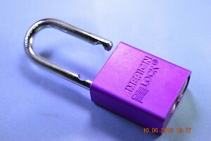 American Lock A1106prp Ka Series Padlock Solid Alum Body 1 4 Hardened Shackle