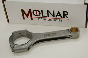 Molnar 6 125 Billet Connecting Rods For Chevrolet Small Block Small Journal