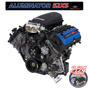 Ford Performance 580 Hp Shelby Gt350 5 2 Aluminator Xs Crate Engine M 6007 A52xs