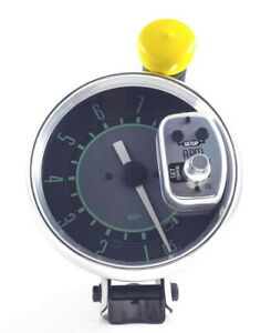 Vw Bug Bus Ghia Type 3 Isp 8 000 Rpm Monster 5 Tachometer Green Numerical Face