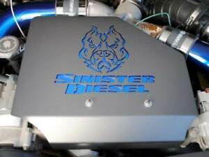 Sinister Diesel Engine Cover For 1999 2003 Ford 7 3l Powerstroke Sinsd Engcov