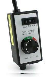 Ventech Vtspeed Variable Dial Router Fan Speed Controller For Duct And