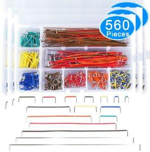 Austor 560 Pieces Jumper Wire Kit 14 Lengths Assorted Preformed Breadboard