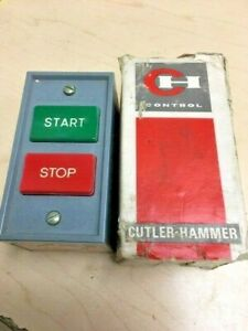 Cutler Hammer 10250h5200 Start stop Switch New Open Box