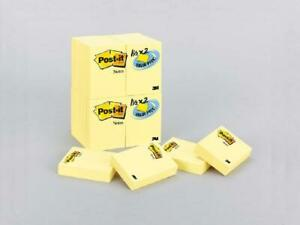 Post it Notes America s 1 Favorite Sticky Note 24 Pads Canary Yellow