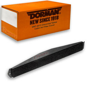 Dorman Cabin Air Filter Cover For Chevy Tahoe 2007 2013 Xg