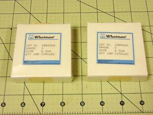 Whatman Grade 3 Filter Papers 2 3cm 1003323 Qty 2 Box Or 200 Sealed New