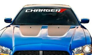 Charger Car Window Decal Dodge Rt Windshield Vinyl Graphics
