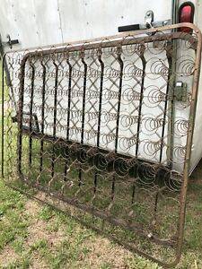 99 Antique Bed Springs Tornado Full Box Spring Steampunk Coil Coils