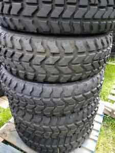 4 Goodyear Wrangler Mt Oz 37x12 50r16 5 Military Humvee Mud Truck Tires 90