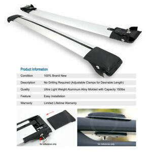 35 Cross Bars Rail Roof Top Rack Cargo Carrier For Ford Gmc Jeep Land Rover etc