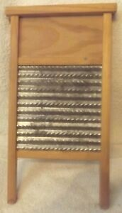 Vintage 15 Lingerie Washboard Believe To Be Columbus Washboard Co Columbus Oh
