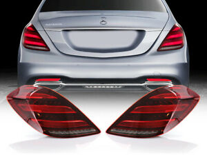 Usa Facelift Maybach Amg Plug Play Led Tail Light Set For 2014 17 W222 S Class
