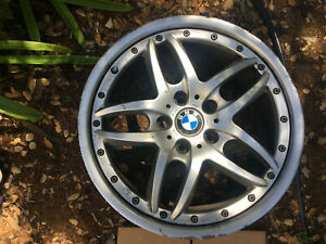 Bmw E46 01 06 Style 71 5 Spoke Cromodora 18 X 8 Front 2 Piece Wheel Rim Oem