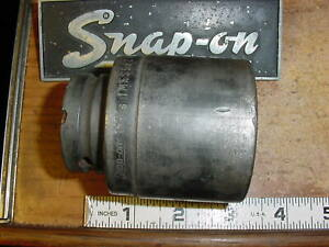 Snap On 3 4 Drive 1 13 16 Shallow 6 Point Sae Impact Socket Imfs 582 Usa