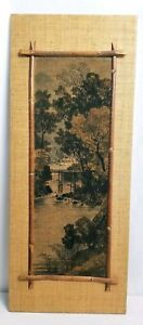 Exceptional Antique 19th Century Fine Japanese Embroidery