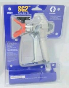 New Sealed Graco Sg2 Airless Spray Gun 243011 Free Priority Shipping