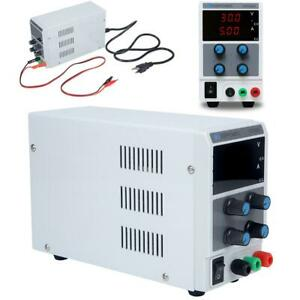 30v 5a Adjustable Dc Power Supply Bench Lab Variable Laboratory Test Equipment