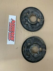 Mopar Rear 10 Brakes Drum Backing Plates A B E Body 8 3 4 Dana Cuda Charger Gtx