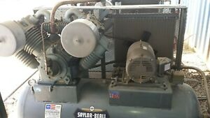 Air Compressor Saylor Beall 9000 Pump Industrial