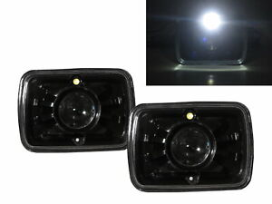 Sonoma 1991 1993 Truck 2d Projector Headlight Black V2 For Gmc Lhd