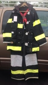Alb Turnout Gear Firefighter Suit gloves And Bag