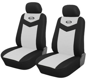 Front Seat Car Seat Covers White For Honda Civic 2006 2019