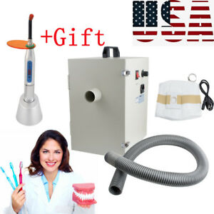 Dental Dentist Digital Dust Collector Vacuum Cleaner Lab Device For Lab gift Usa