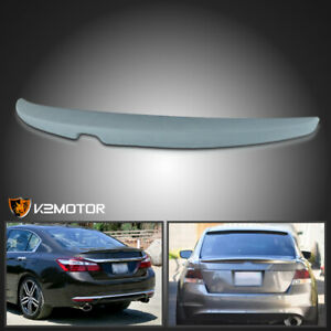 For 2008 2012 Honda Accord 4dr Sedan Abs Factory Style Rear Trunk Spoiler Wing