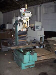 Southwestern Industries Mill Proto Trak Sport B3 3 Axis Cnc Bed Milling Machine