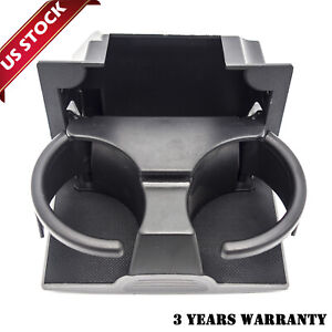 Rear Center Console Cup Holder 96965 Zs00a Gray For Nissan Frontier Xterra Us